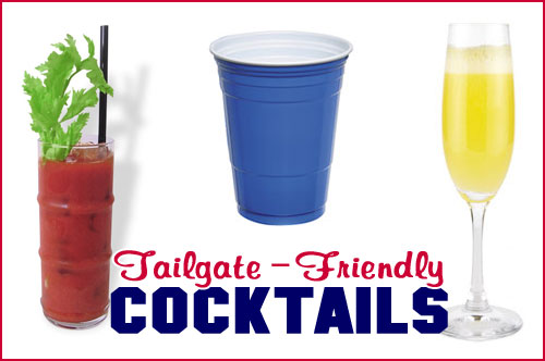 Tailgate Friendly Cocktails