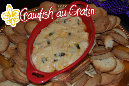 Crawfish Au Gratin Dip