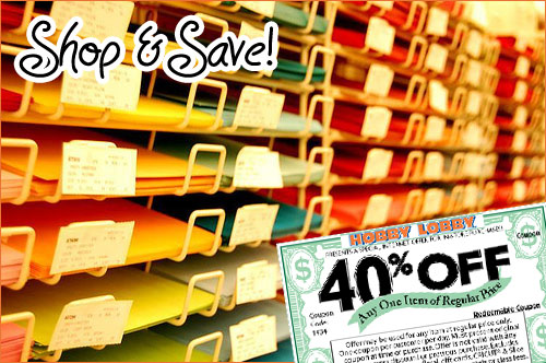 Hobby Lobby Coupon Picture Framing Clinic