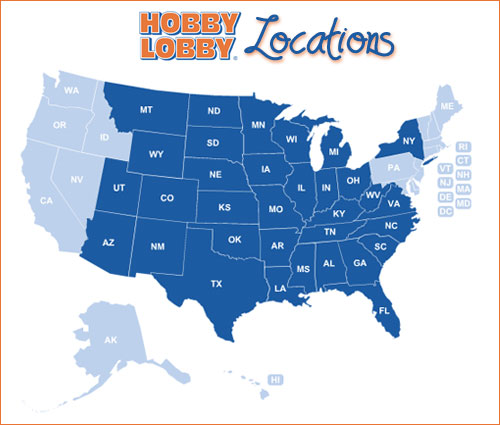 Im sold on hobby lobby entertaining life hobby lobby map gumiabroncs