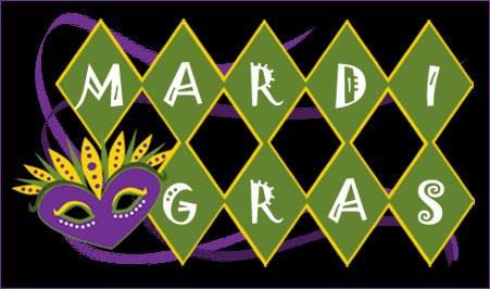 Mardi Gras Evite