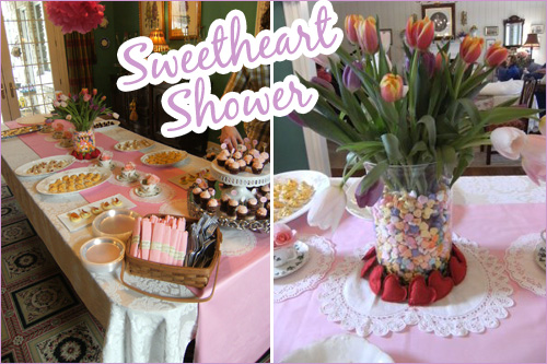 Sweetheart Shower Tablescape