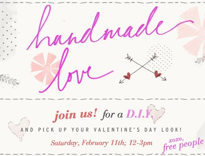 Handmade Love - Free People DIY Weekend